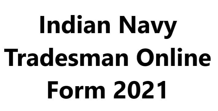 Indian Navy Tradesman Recruitment 2021 PDF Download